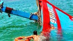 Vụ tàu lạ tông chìm tàu cá: Xác định thủ phạm, chưa tìm thấy thuyền trưởng