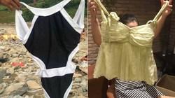 Tặng bikini cho bà con vùng lũ khiến dân mạng bức xúc