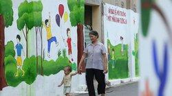 """Hà Nội: """"Hồi sinh"""" con đường ẩm mốc bằng tranh tường độc đáo"""