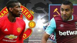 Xem trực tiếp M.U vs West Ham trên kênh nào?
