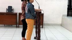 Bên lề phiên tòa vụ hắt luyn vào sạp thịt: Bị cáo Hoa là cựu du HS
