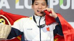 """""""Kình ngư"""" 15 tuổi Kim Sơn phá kỷ lục quốc gia ở SEA Games"""