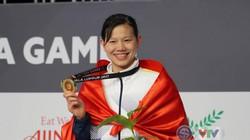"""TIN SEA GAMES (Tối 22.8): Ánh Viên lập """"hat-trick vàng"""", Nguyễn Thị Huyền phá kỷ lục SEA Games"""