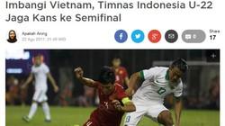Báo Indonesia nói gì về trận cầu xấu xí của đội nhà trước Việt Nam?