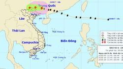 Ảnh hưởng của bão số 6, miền Bắc mưa như trút nước