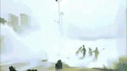Hình ảnh kinh hoàng khi siêu bão Hato đổ bộ Trung Quốc