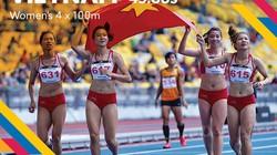 """Nhật ký SEA Games (tối 25.8): Việt Nam liên tục """"hái vàng"""" từ điền kinh"""