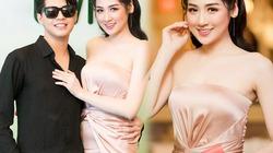 """""""Bạn gái Noo Phước Thịnh"""" mặc xẻ cao ngút, cúp ngực gợi cảm"""