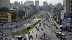 """Con đường """"đắt nhất hành tinh"""" của Hà Nội nhìn từ trên cao"""