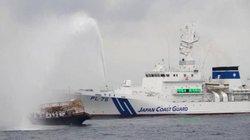 Nhật bắn vòi rồng đuổi hàng trăm tàu cá Triều Tiên xâm nhập lãnh hải