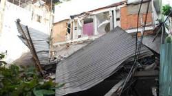 Nhà 3 tầng bất ngờ đổ sập, đè nát nhà hàng xóm trong đêm