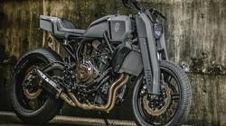 Yamaha MT-07 hóa vũ khí linh hồn bóng đêm đáng sợ