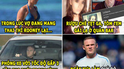 """HẬU TRƯỜNG (3.9): Bồ Ronaldo bị lộ ảnh nóng, Rooney """"làm trò quỷ"""""""