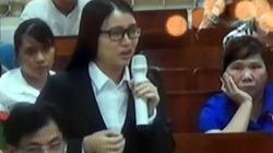 """Clip: """"Bóng hồng"""" trong vụ án Hà Văn Thắm lần thứ 3 nức nở ở tòa"""