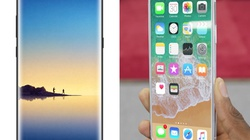 """Galaxy Note 8 hoàn thiện nhưng đã đủ sức khiến iPhone 8 """"mất máu""""?"""
