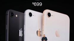 iPhone 8 và 8 Plus trình làng, nhanh hơn, chụp đẹp hơn