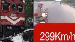 Clip hot tổng hợp:Tàu hỏa đâm cắt đôi xe tải, phóng nhanh trêu CSGT