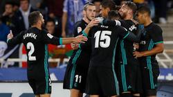 """Thắng Sociedad 3-1, Real lập 2 kỷ lục """"vô tiền khoáng hậu"""""""