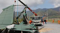 Đang có trên 900 công nhân tham gia sửa điện tại Quảng Bình