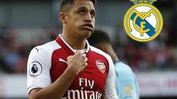 """Chán Arsenal, Alexis Sanchez tính """"đào tẩu"""" sang Real"""
