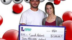 Bà mẹ trẻ 3 con trúng giải jackpott 45 tỷ đồng