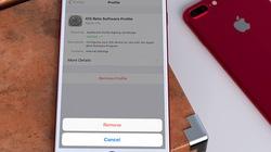 Cách loại bỏ tiểu sử iOS 11 beta để lên đời iOS 11 chính thức