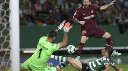 """Clip: Cả đội """"tịt ngòi"""", Barca may mắn giành chiến thắng"""