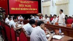 Quảng Trị: Kỷ luật 38 đảng viên, thu hồi gần 24 tỷ tiền sai phạm