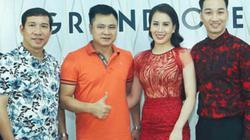 Xuân Bắc, Vân Dung, Quang Thắng mừng MC Thành Trung ra mắt công ty