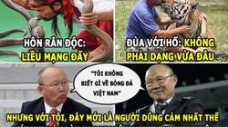 """HẬU TRƯỜNG (30.9): HLV ĐT Việt Nam dũng cảm, Pep """"quỳ lạy"""" Conte"""