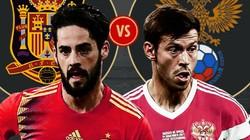 """Nhận định, dự đoán kết quả Tây Ban Nha vs Nga (21h00 ngày 1.7): """"Bò tót"""" thẳng tiến"""