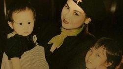 Diva Thanh Lam xinh đẹp khoe ảnh chụp với các con ngày nhỏ