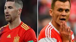 Xem trực tiếp Tây Ban Nha vs Nga trên VTV6