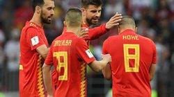 Những thống kê đáng xấu hổ của Tây Ban Nha sau trận thua Nga