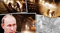 Lộ bí mật Putin không muốn ai biết dưới lòng đất ở Moscow