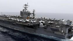 """Đội tàu sân bay Mỹ """"nắn gân"""" tàu ngầm Nga ở Đại Tây Dương"""