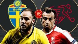 Xem trực tiếp Thụy Điển vs Thụy Sĩ trên VTV6