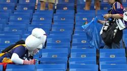 """Chỉ sau một trận đấu, cả thế giới lại phải """"ngả nón"""" trước người Nhật"""