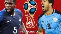 Xem trực tiếp Pháp vs Uruguay trên VTV6