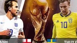 """Nhận định, dự đoán kết quả Anh vs Thụy Điển: (21h00 ngày 7.7): Chờ """"Tam sư"""" gầm vang"""