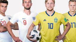 Xem trực tiếp Anh vs Thụy Điển trên VTV6