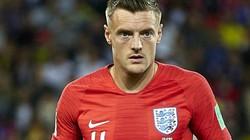 Jamie Vardy chấn thương háng, lỡ buổi tập ngay trước trận Anh vs Thụy Điển