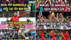 ẢNH CHẾ WORLD CUP (8.7): Anh sẽ vô địch, Sterling làm 'trùm buôn gỗ'