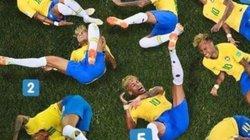 Clip: Chỉ mặt các pha ăn vạ hài hước nhất trong bóng đá