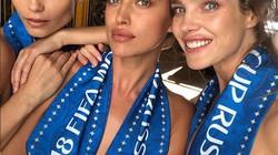 3 người đẹp Nga nghẹn ngào thua trận, dù đã cởi áo cổ vũ đội nhà