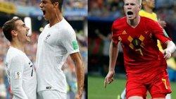 Xem trực tiếp Pháp vs Bỉ trên VTV3