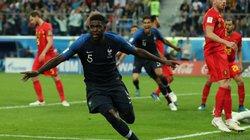 """Clip bàn thắng: ĐT Pháp 1-0 ĐT Bỉ, Gà trống """"Gô-Loa"""" giành vé vào chung kết"""