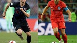 """Thống kê thông tin bán kết Anh vs Croatia: Lịch sử ủng hộ """"Tam sư"""""""