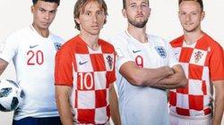 Xem trực tiếp Anh vs Croatia trên VTV3
