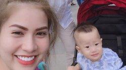 """Giữa """"tâm bão"""" với Quế Vân, Việt Anh im lặng còn vợ nhắn nhủ đầy ẩn ý"""